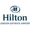 Hilton Gatwick Logo- Blue